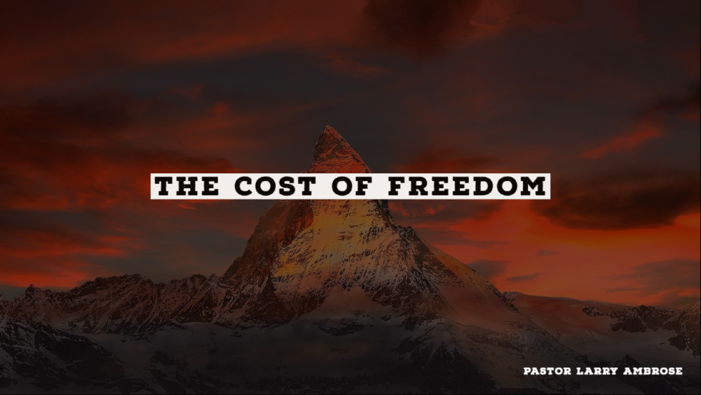 The Cost of Freedom Image