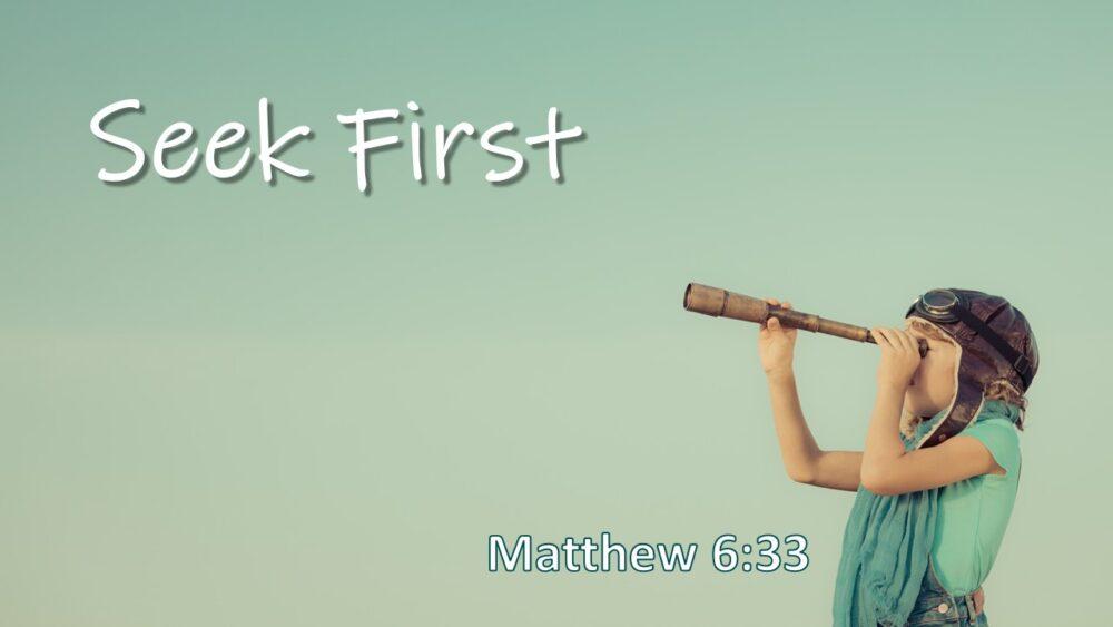 Seek First Image
