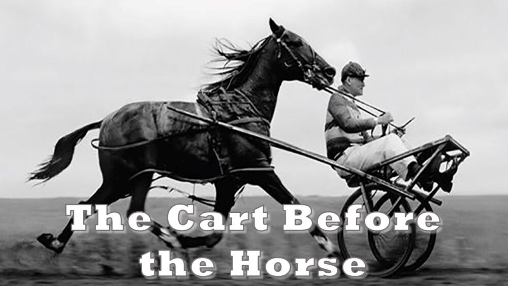 The Cart Before the Horse Image